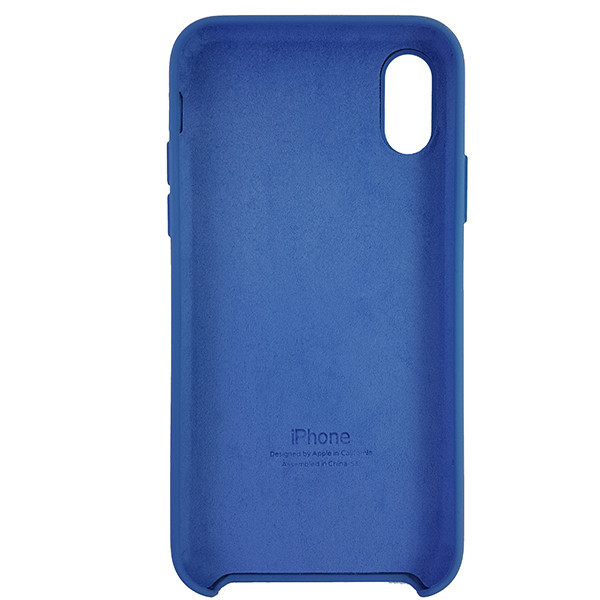 Чохол Copy Silicone Case iPhone X/XS Azure (24) - 4