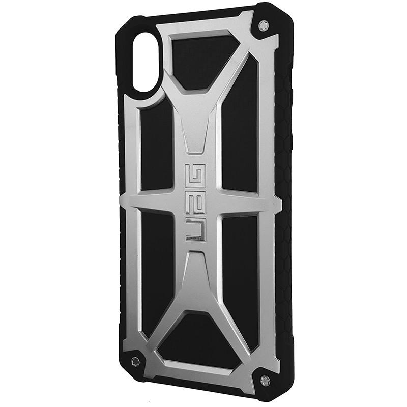 Чохол UAG Monarch iPhone X/XS Silver (HC) - 1