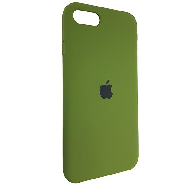 Чехол Original Soft Case iPhone SE 2020 Dark Green (48) - 1