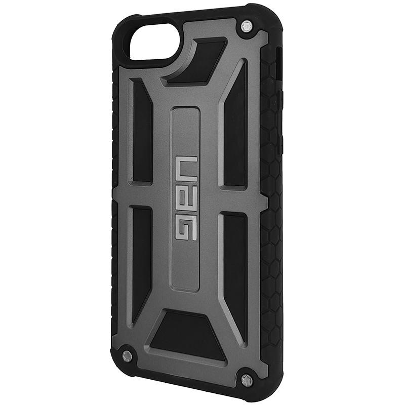 Чохол UAG Monarch iPhone 8 Gray (HC) - 1
