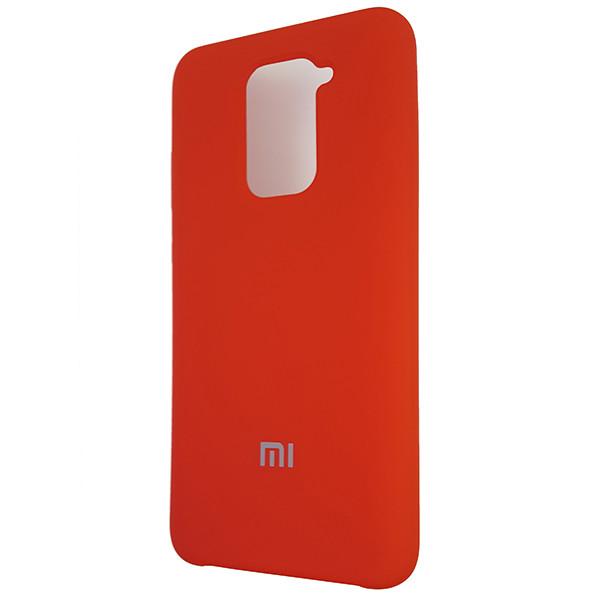 Чохол Silicone Case for Xiaomi Redmi Note 9 Red (14) - 1