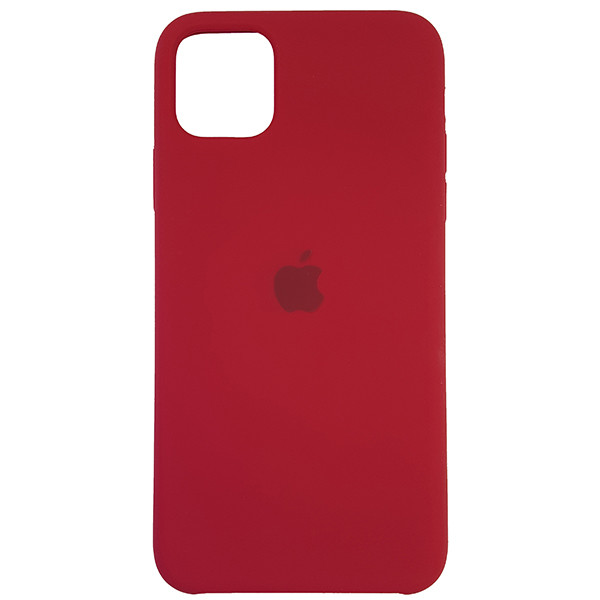 Чохол Copy Silicone Case iPhone 11 Pro Max Rose Red (36) - 3