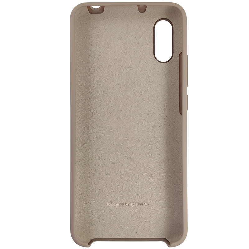 Чохол Silicone Case for Xiaomi Redmi 9A Sand Pink (19) - 3