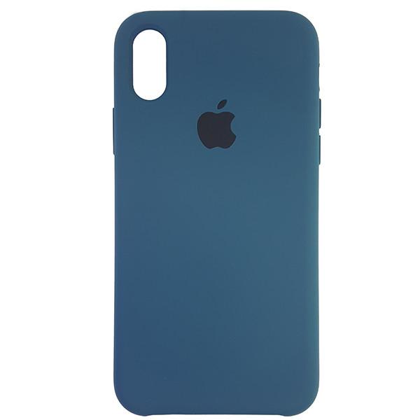 Чохол Copy Silicone Case iPhone X/XS Cosmos Blue (35) - 3