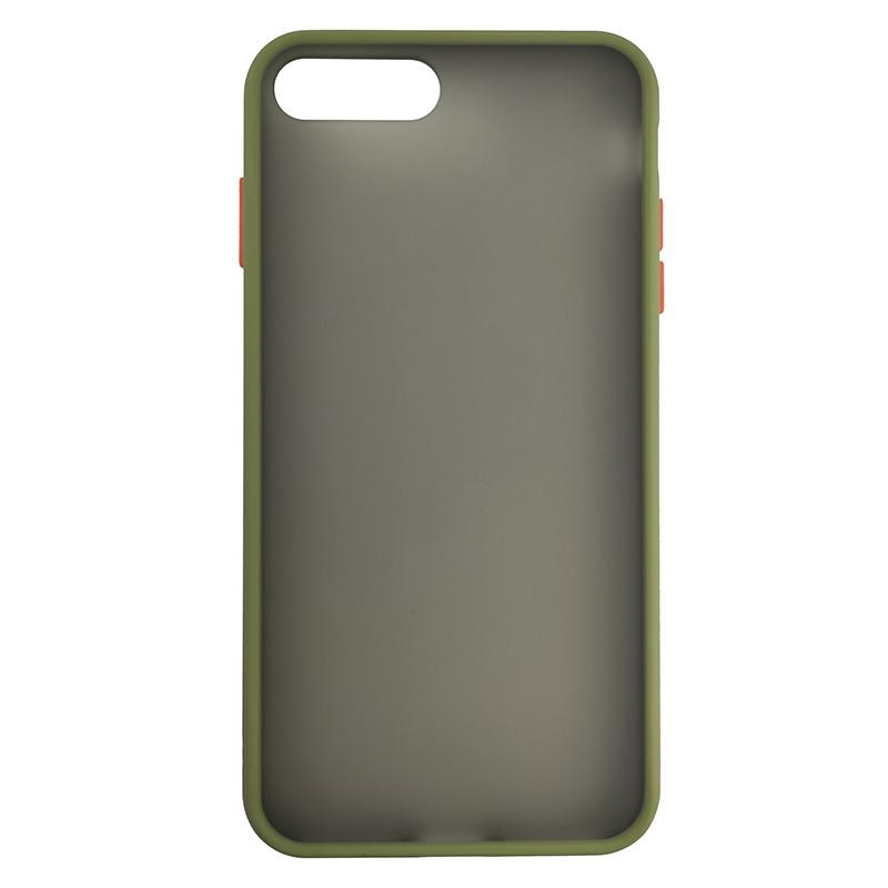 Чохол Totu Copy Gingle Series for iPhone 7/8 Plus Dark Green+Orange - 2