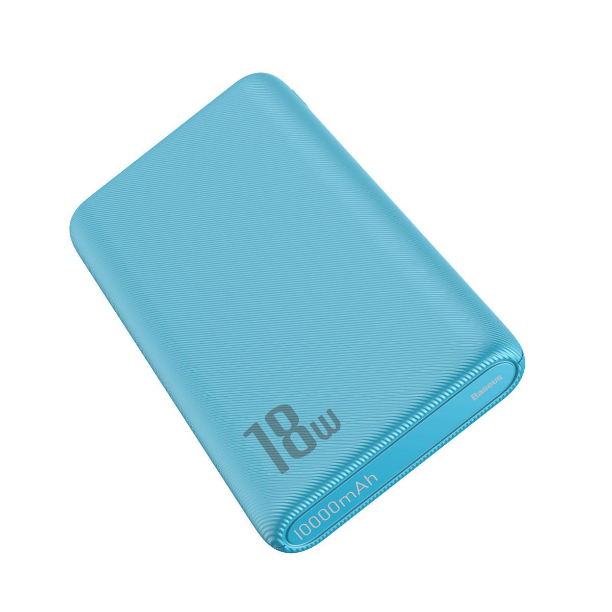 Power Bank Baseus Bipow PD+QC 10000mAh Blue - 3