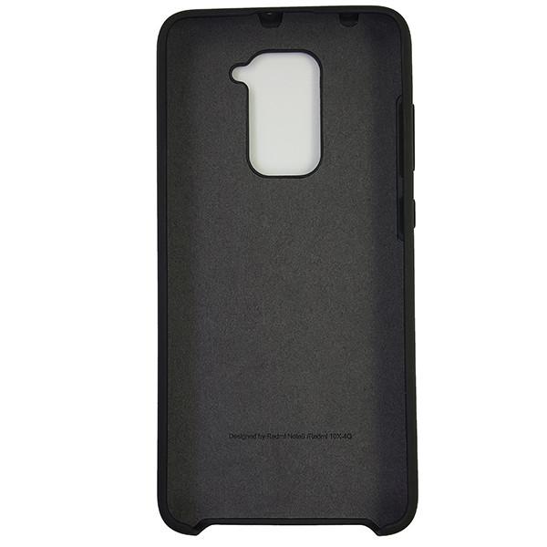 Чохол Silicone Case for Xiaomi Redmi Note 9 Black (18) - 3