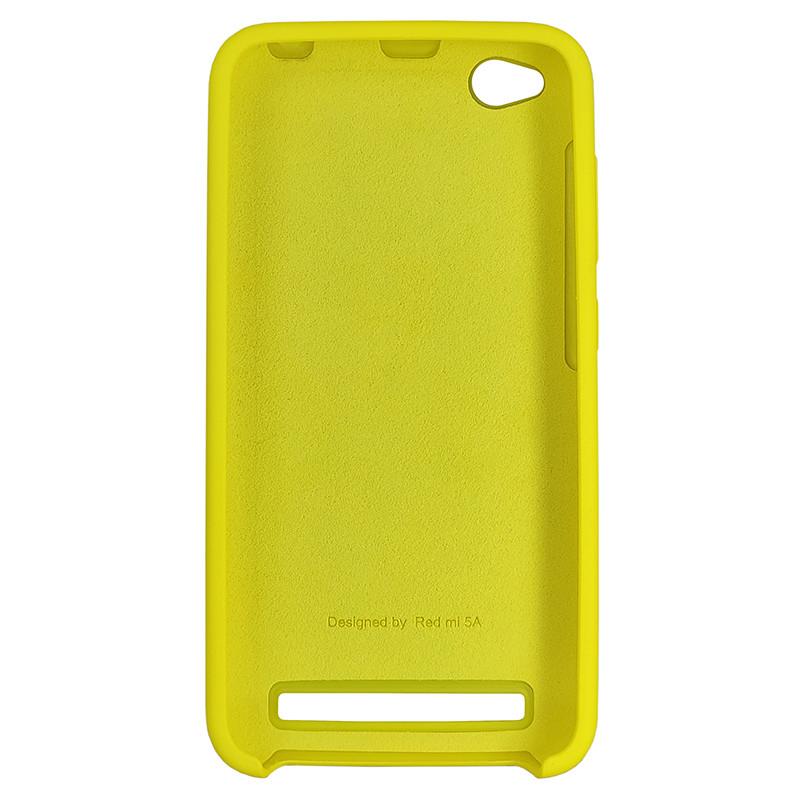 Чохол Silicone Case for Xiaomi Redmi 5A Yellow (4) - 3