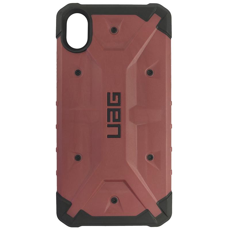 Чохол UAG Pathfinder iPhone XR Wine Red (HC) - 3