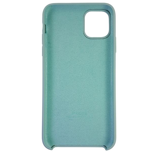 Чохол Copy Silicone Case iPhone 11 Pro Max Mist Green (17) - 4