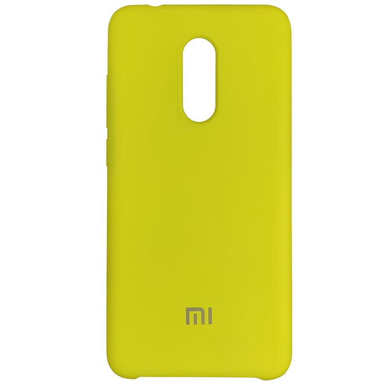Чохол Silicone Case for Xiaomi Redmi 5 Yellow (4) - 1