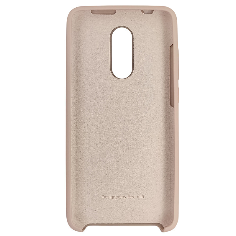 Чохол Silicone Case for Xiaomi Redmi 5 Sand Pink (19) - 3