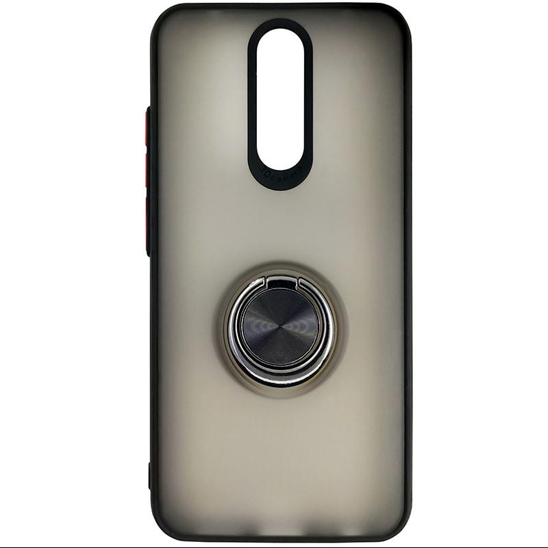 Чохол Totu Copy Ring Case Xiaomi Redmi 8/8A Black+Red - 3