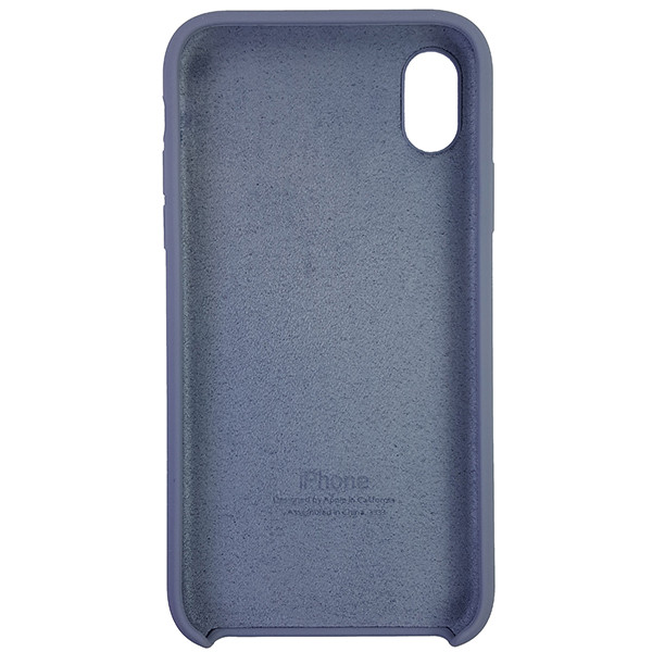 Чохол Copy Silicone Case iPhone XR Gray (46) - 4