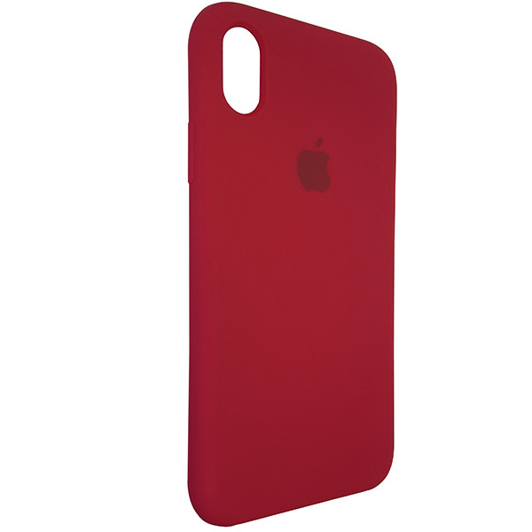 Чохол Copy Silicone Case iPhone XR Rose Red (36) - 1