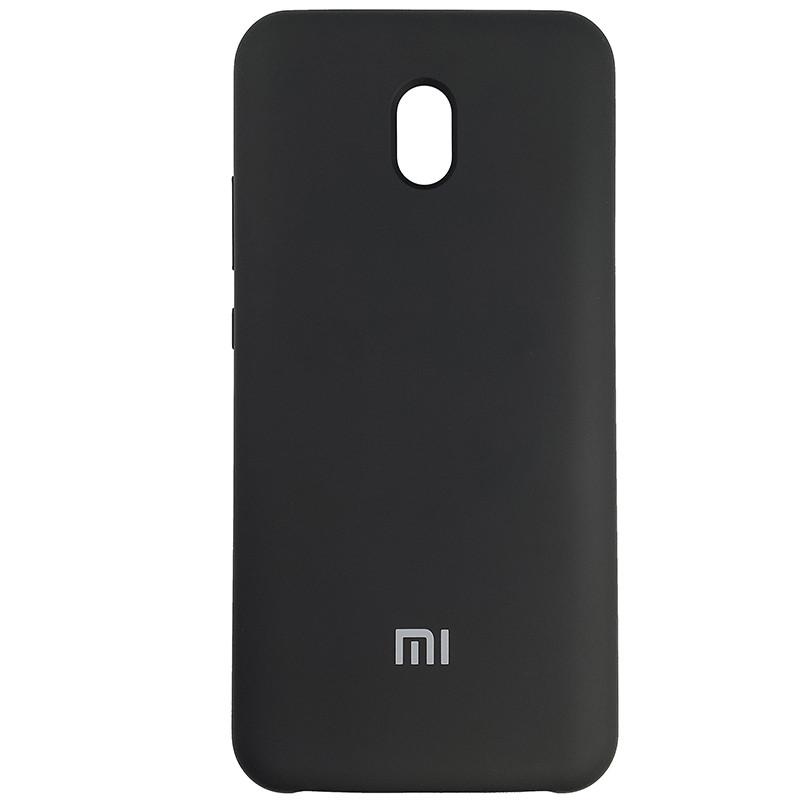 Чохол Silicone Case for Xiaomi Redmi 8A Black (18) - 1