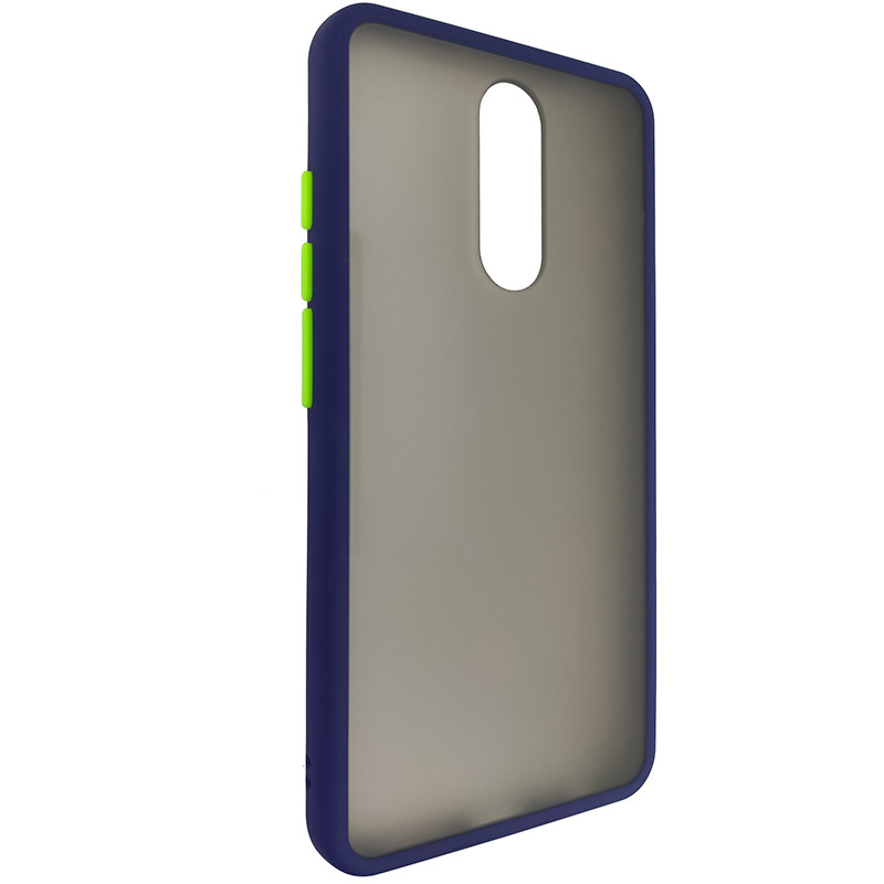 Чохол Totu Copy Gingle Series for Xiaomi 8/8A Blue+Light Green - 1