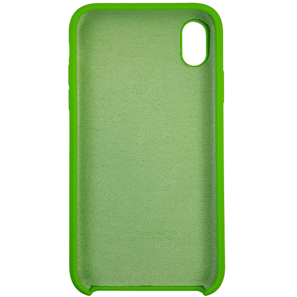 Чохол Copy Silicone Case iPhone XR Green (31) - 4