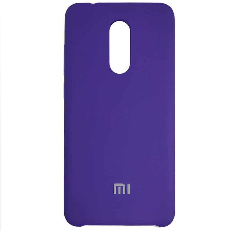 Чехол Silicone Case for Xiaomi Redmi 5 Violet (36) - 1