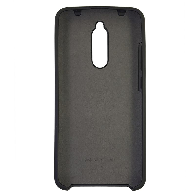 Чохол Silicone Case for Xiaomi Redmi 8 Black (18) - 3