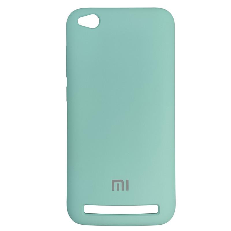 Чохол Silicone Case for Xiaomi Redmi 5 Ice Sea Blue (21) - 1