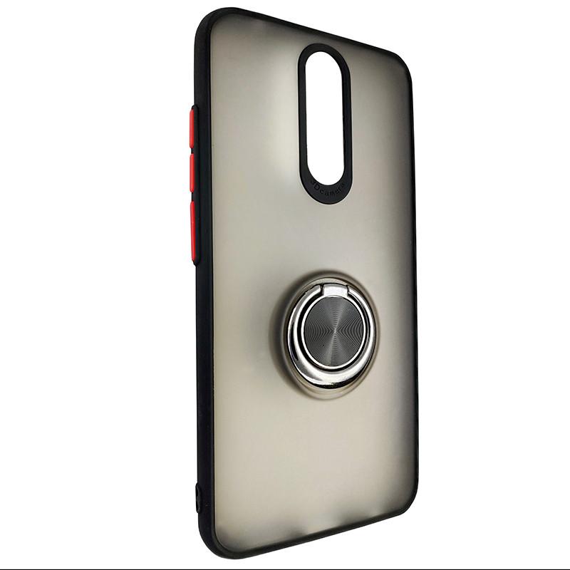 Чохол Totu Copy Ring Case Xiaomi Redmi 8/8A Black+Red - 1