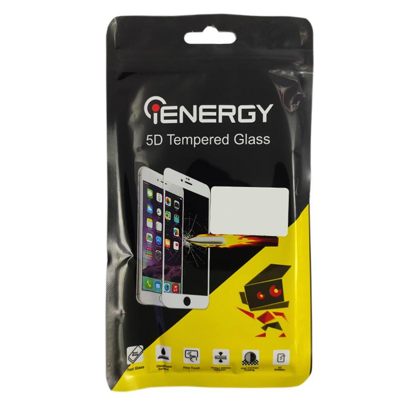 Захисне скло Full Glue iEnergy Samsung A60 (0.3 mm) Black - 1
