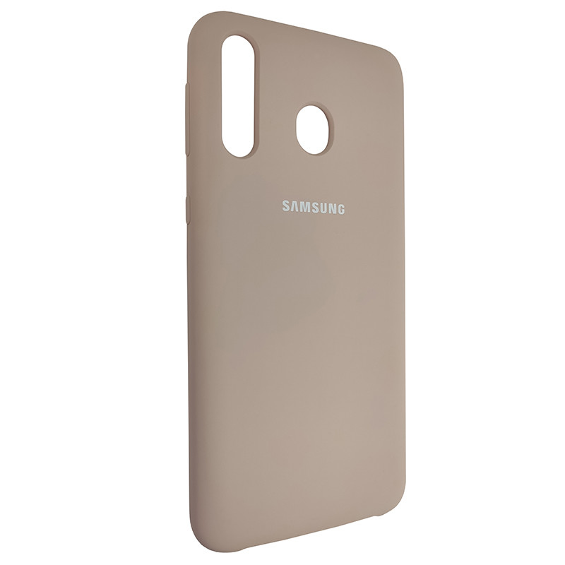 Чохол Silicone Case for Samsung M30 Sand Pink (19) - 2