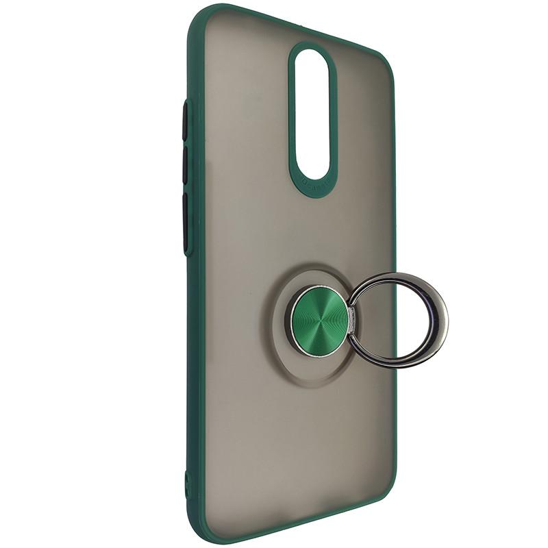 Чохол Totu Copy Ring Case Xiaomi Redmi 8/8A Green+Black - 2