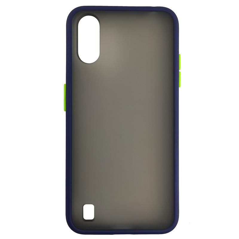 Чохол Totu Copy Gingle Series for Samsung A01 (A015) Blue+Light Green - 2