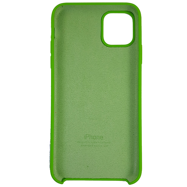 Чохол Copy Silicone Case iPhone 11 Green (31) - 4