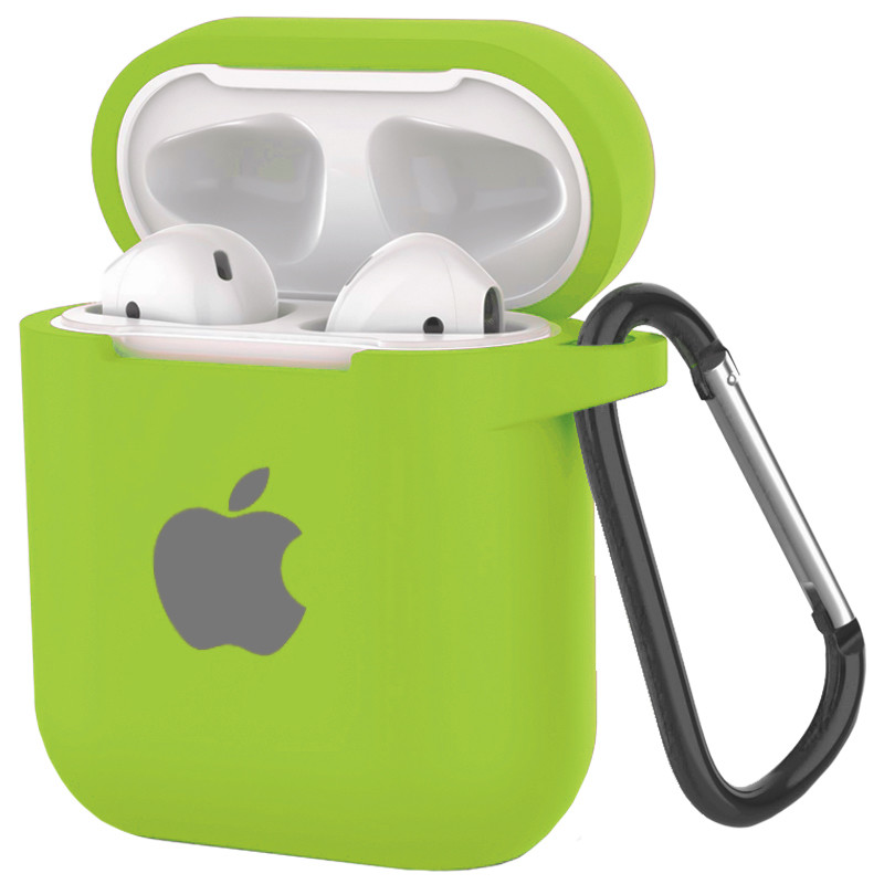 Silicone Case for AirPods Green (31) - 1