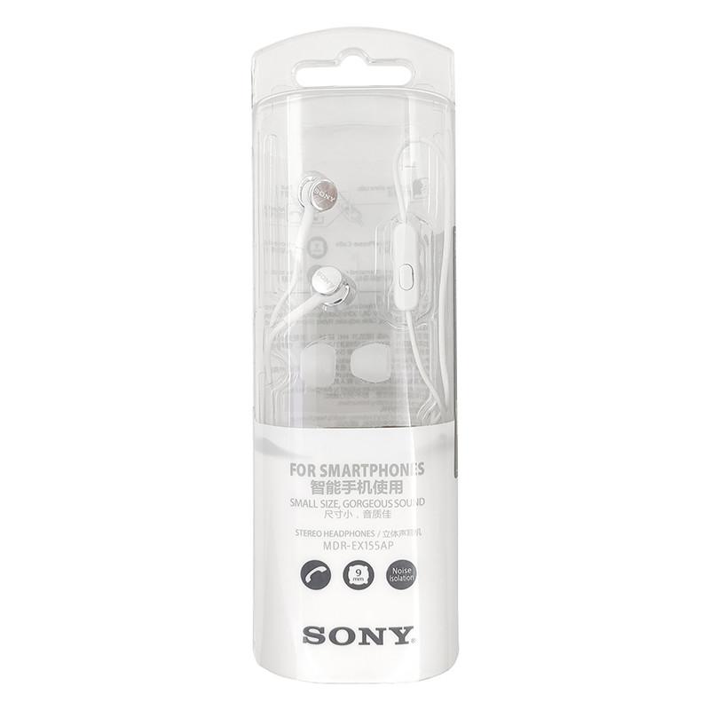 Гарнітура Sony MDR-EX155AP White - 3