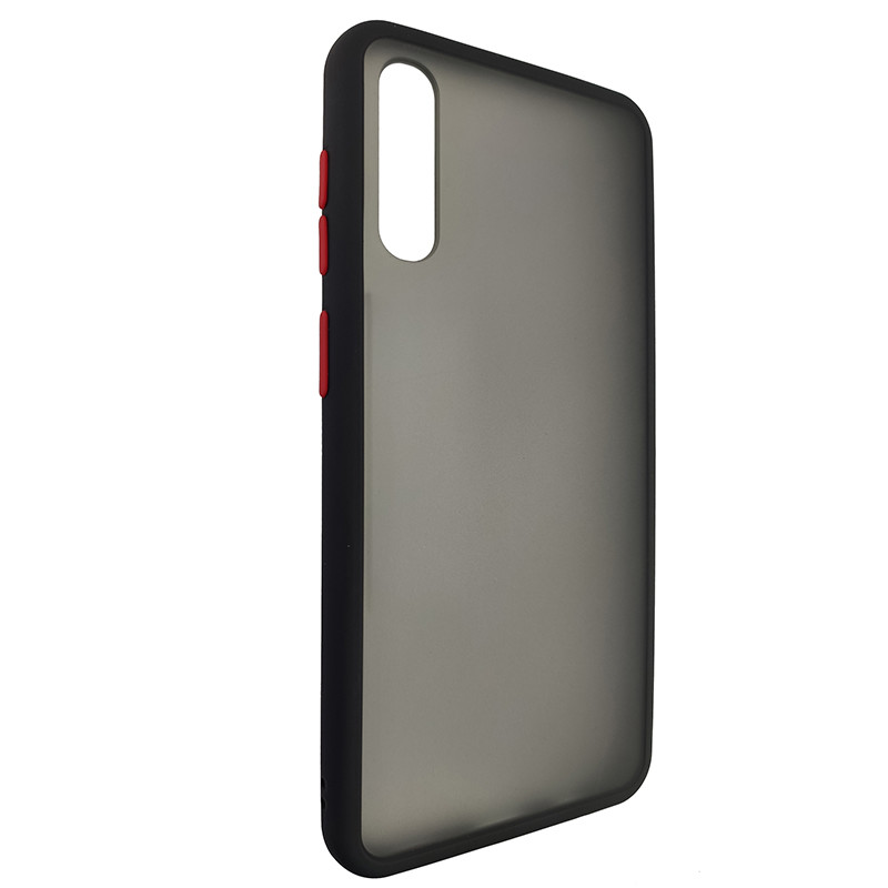 Чохол Totu Copy Gingle Series for Samsung A30S/A50 Black+Red - 1