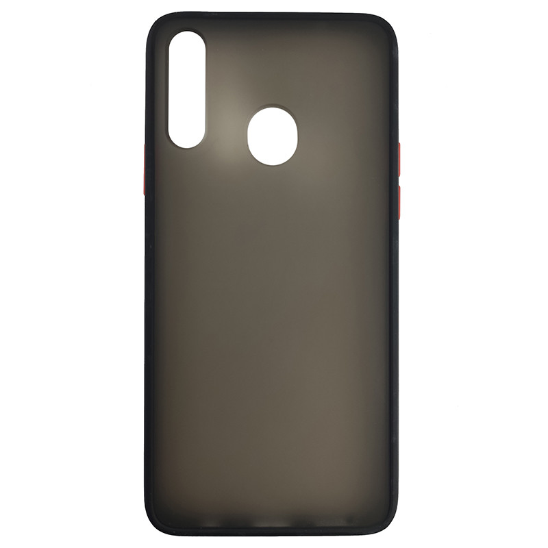 Чохол Totu Copy Gingle Series for Samsung A20S Black+Red - 2