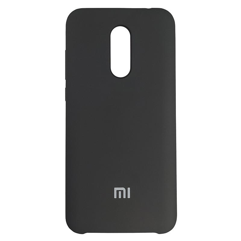 Чохол Silicone Case for Xiaomi Redmi 5 Plus Black (18) - 1