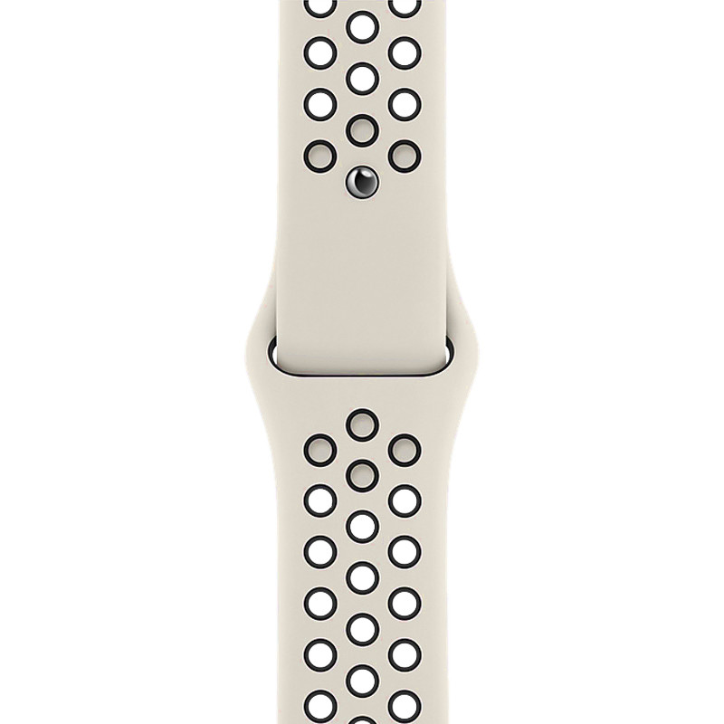 Ремінець для Apple Watch (38-40mm) Nike Sport Band Milk/Black - 1