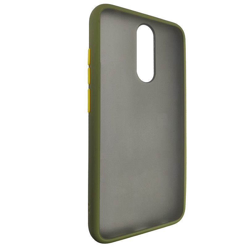 Чохол Totu Copy Gingle Series for Xiaomi 8 Green+Yellow - 1