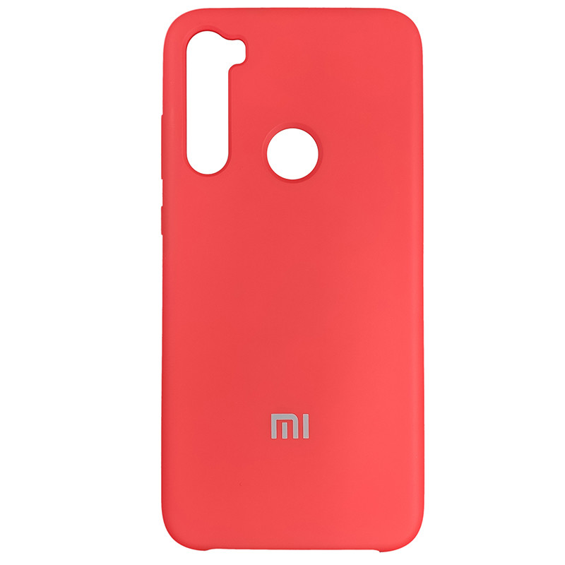 Чохол Silicone Case for Xiaomi Redmi Note 8 Red (14) - 1