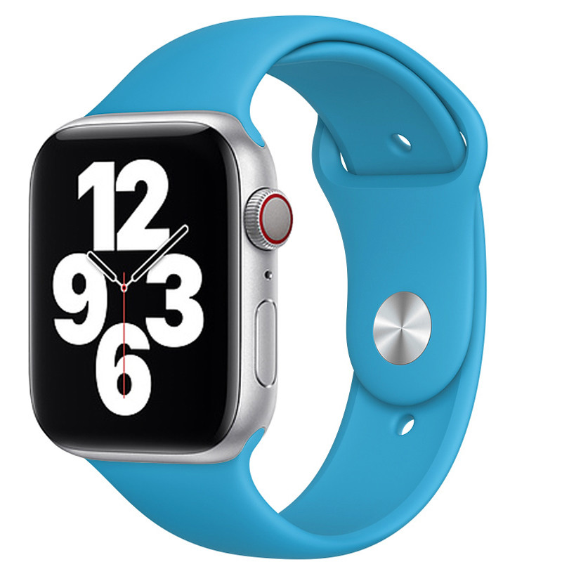 Ремінець для Apple Watch (42-44mm) Sport Band Sky Blue (16)  - 2