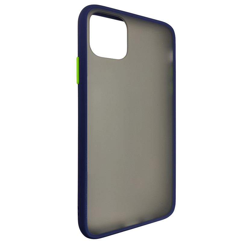 Чохол Totu Copy Gingle Series for iPhone 11 Pro Max Blue+Light Green - 1