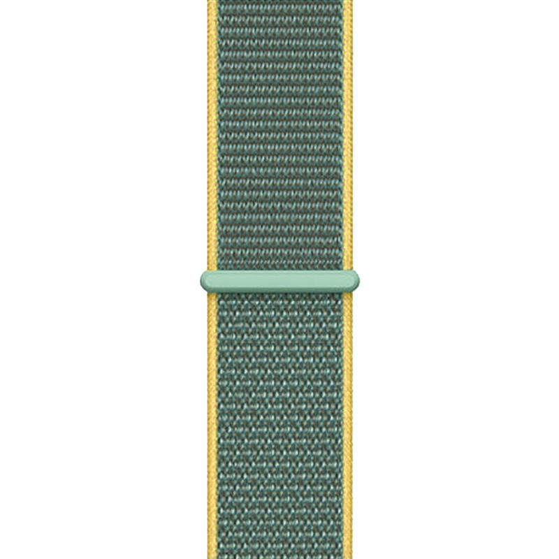 Ремінець для Apple Watch (42-44mm) Sport Loop Nike Yellow/Green - 1