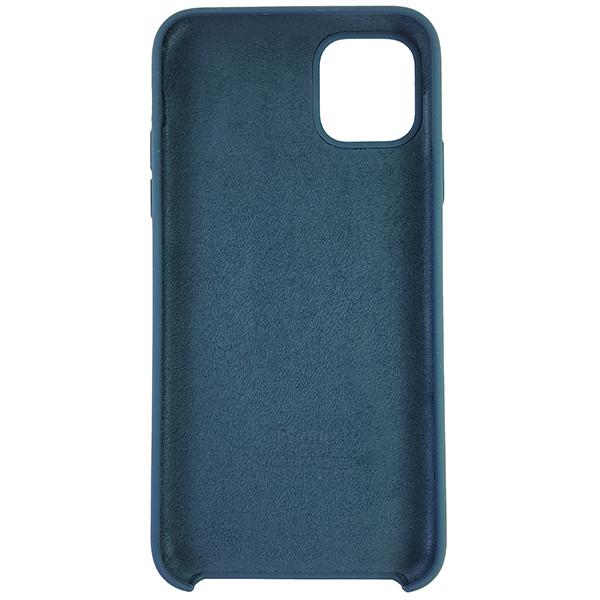 Чохол Copy Silicone Case iPhone 11 Pro Max Cosmos Blue (35) - 4