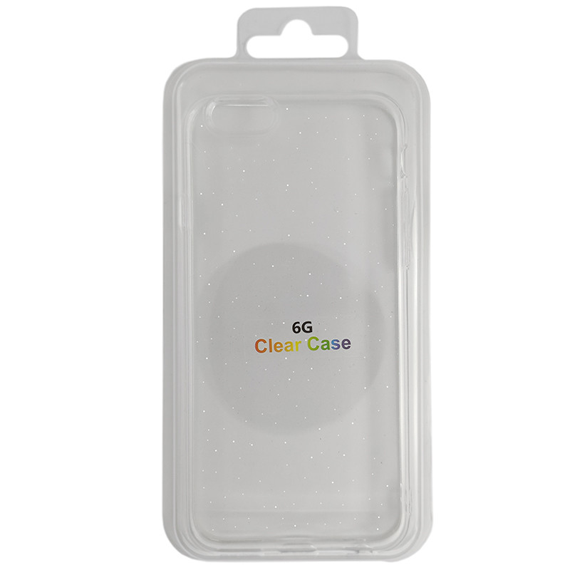 Чохол Molan Cano Silicone Glitter Clear Case iPhone 6 - 1