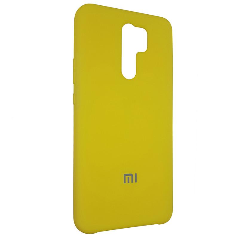 Чохол Silicone Case for Xiaomi Redmi 9 Yellow (4) - 2