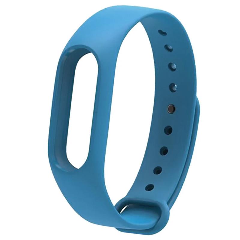 Ремінець для фітнес браслету Mi Band 2 (Silicon) Blue - 1