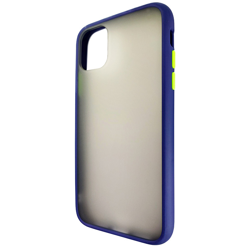 Чохол Totu Copy Gingle Series for iPhone 11 Blue+Light Green - 2