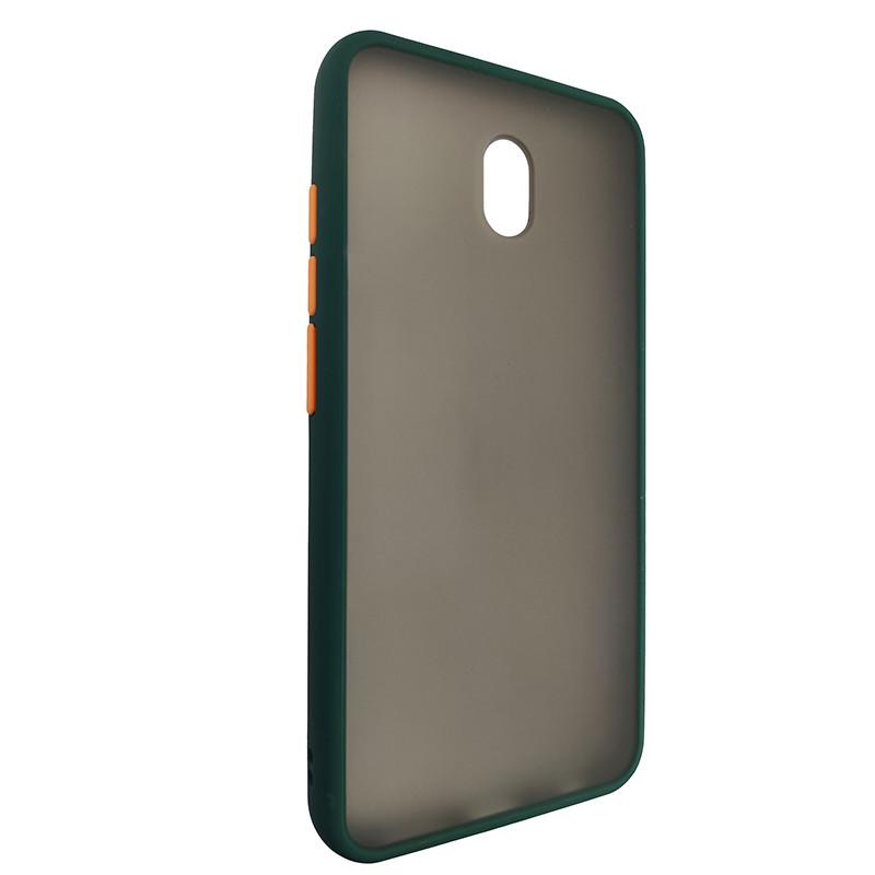 Чохол Totu Copy Gingle Series for Xiaomi 8A Dark Green+Orange - 1