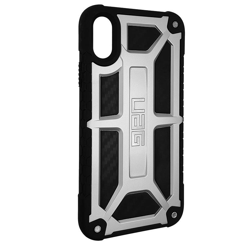 Чохол UAG Monarch iPhone X/XS Silver (HC) - 2
