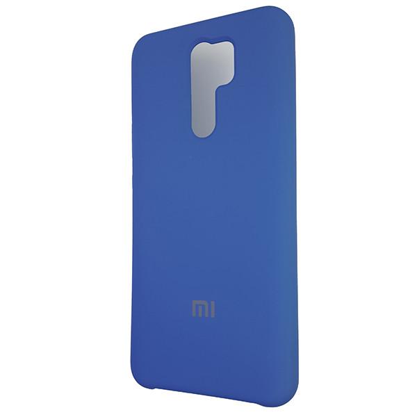 Чохол Silicone Case for Xiaomi Redmi 9 Blue (3) - 1